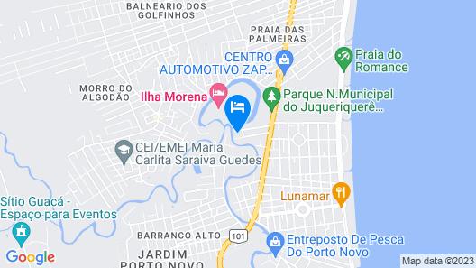 Pousada Porto do Rio Map
