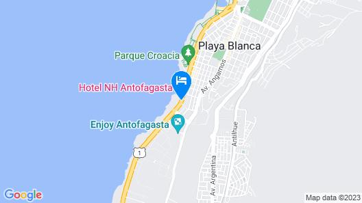 NH Antofagasta Map