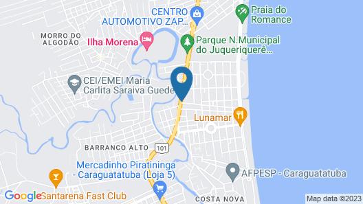 Cavalo Marinho Suites Map