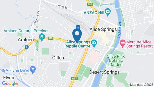 Haven Backpacker Resort Map