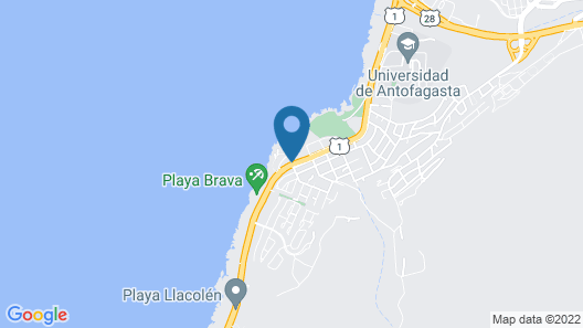 Geotel Antofagasta Map