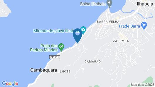 Barra Do Piuva Porto Hotel Map