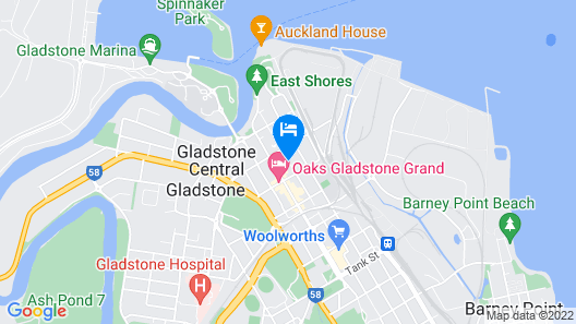 Gladstone Central Plaza Map