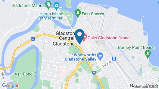 Park View Motel Map