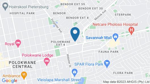 Masana Lodge Map