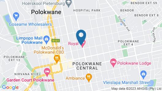 Bongiwe Accommodation Map