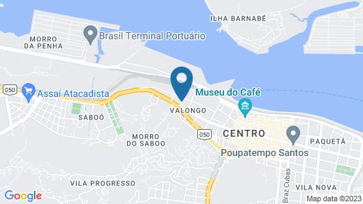 ibis Santos Valongo Map