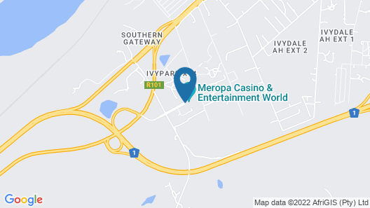 Meropa Casino Map