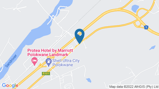 Town Lodge Polokwane Map