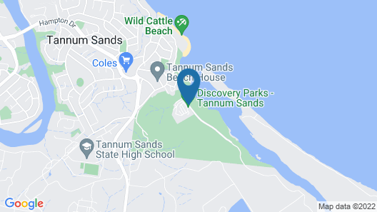 Discovery Parks – Tannum Sands Map