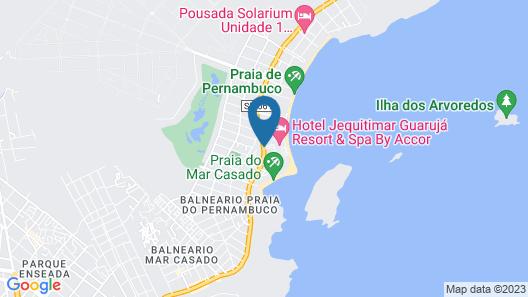 Sofitel Guaruja Jequitimar Map