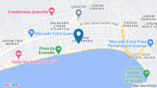 Hotel Costa Balena Map