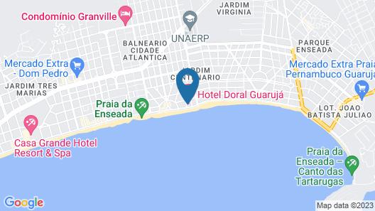 Hotel Doral Guarujá Map