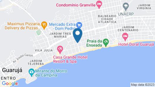 ibis Styles Guaruja Map