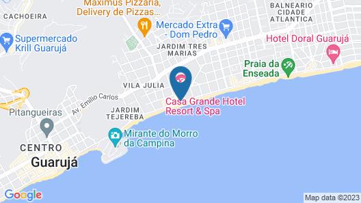 Casa Grande Hotel Resort And Spa Map