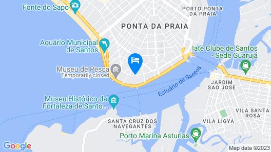 Comfort Hotel Santos Map
