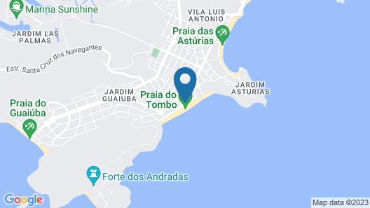 Strand Hotel Map