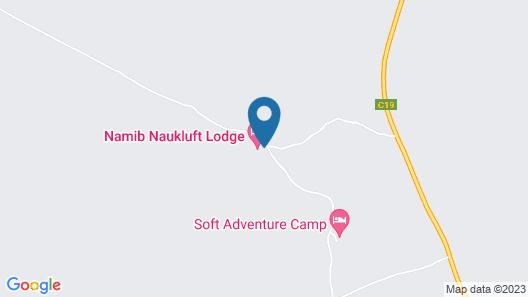 Namib Naukluft Lodge Map