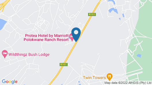 Protea Hotel by Marriott Polokwane Ranch Resort Map