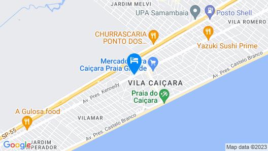 Hotel H Praia Grande Map