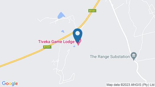 Tiveka Game Lodge Map