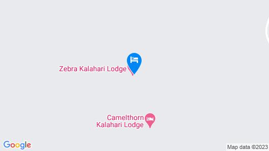 Zebra Kalahari Lodge Map