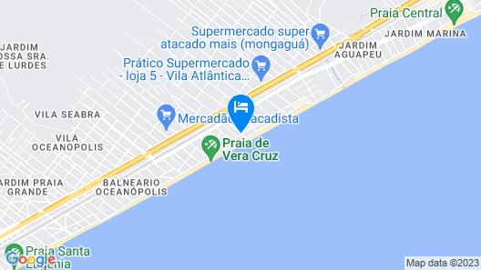 Pousada das Artes Map
