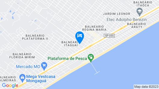 Pousada de Maria Map