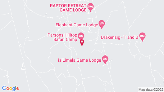 Parsons Hilltop Safari Camp Map