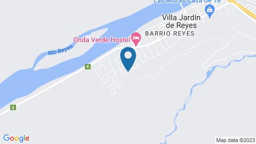 Hosteria Pura Vida Map