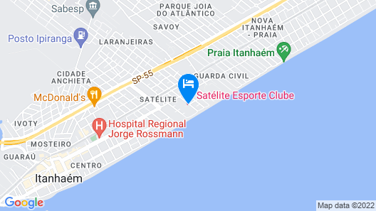 Satelite Itanhaem Map