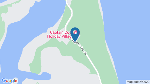 Captain Cook Holiday Village Map