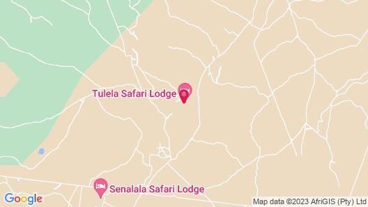 Klaserie Sands Safari Trails Map