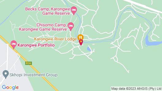 Karongwe River Lodge Map