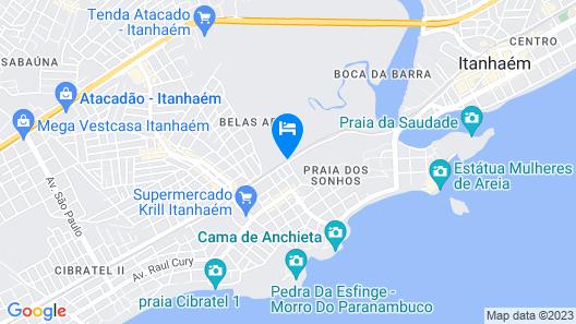 Hotel Pousada Pantanal Map