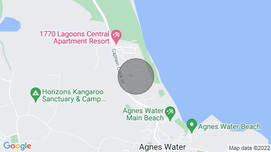 Beach Walk Holiday House Map