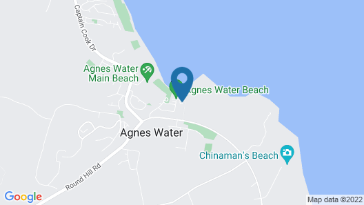 Agnes Water Beach Holidays Map