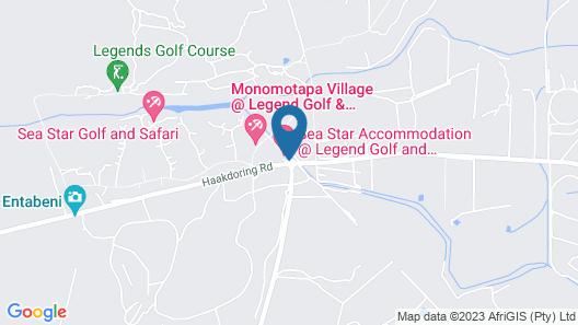 Sea Star Golf and Safari Resort Map