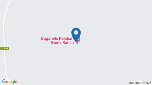 Bagatelle Kalahari Game Ranch Map