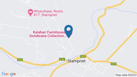 Kalahari Farmhouse Map