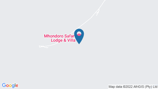 Mhondoro Safari Lodge & Villa Map