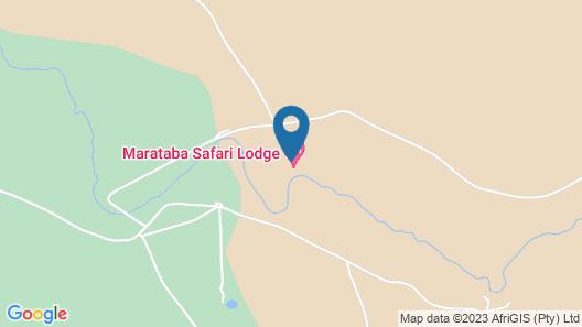 Marataba Safari Lodge Map