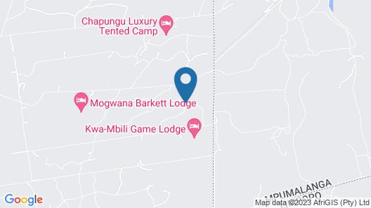 Chapungu Luxury Tented Camp Map