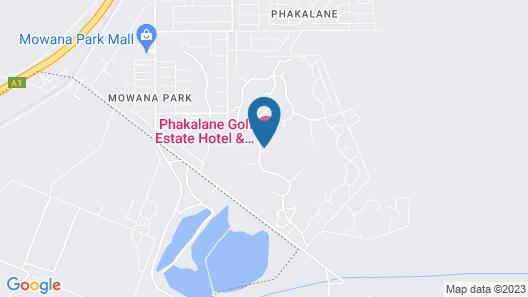 Phakalane Golf Estate Hotel Resort Map