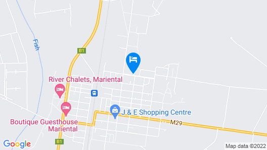 Aub Guesthouse Map
