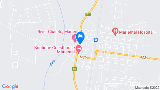 Boutique Guesthouse Mariental Map