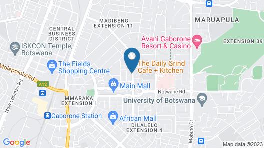 Airport Junction Guest Inn Map
