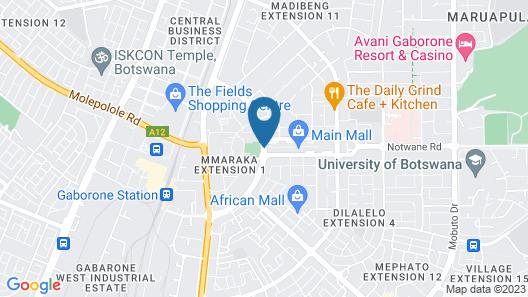 Regent Select Hotel Map