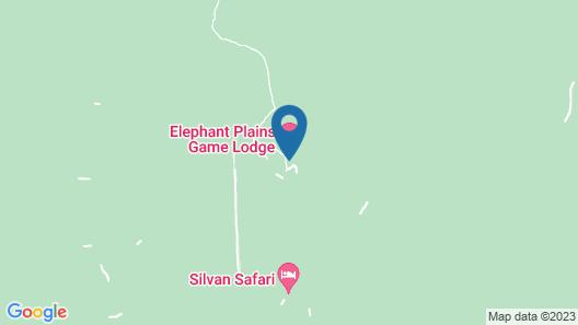 Elephant Plains Game Lodge Map