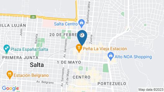 Hotel Inkai Map